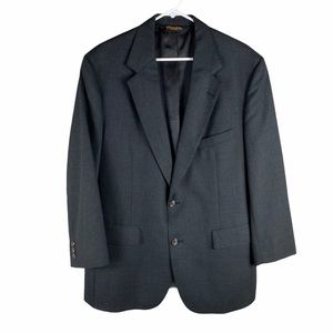 Brooks Brothers 1818 grey wool jacket 42 Regular